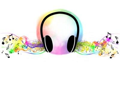 Posters Écouter de la musique