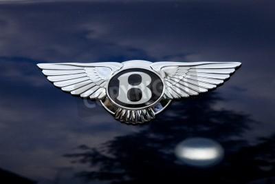 Posters Emblème Bentley - shoting l'extérieur