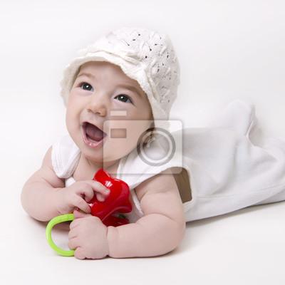 35dcc224b4e0 Enfant chéri regardant avec la bouche ouverte affiches murales ...