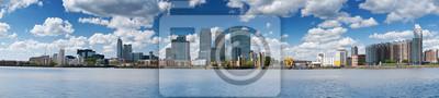 ÉNORME Canary Wharf Skyline