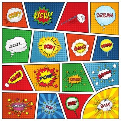 Posters Ensemble d'effets sonores comiques
