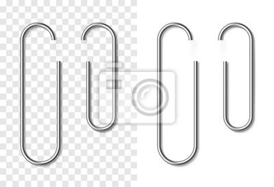 Posters Ensemble de trombone réaliste métallique argenté