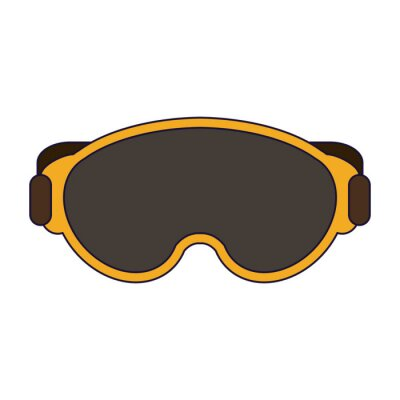 Équipement de lunettes d'hiver