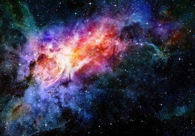 Posters étoilé profonde nébuleuse de l'espace et la galaxie