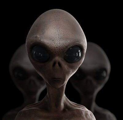 Posters extraterrestres