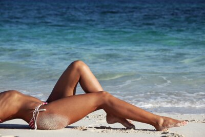 Posters Femme, plage