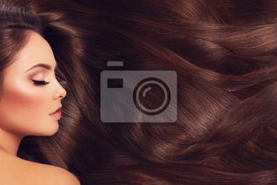 Posters Fille aux cheveux longs