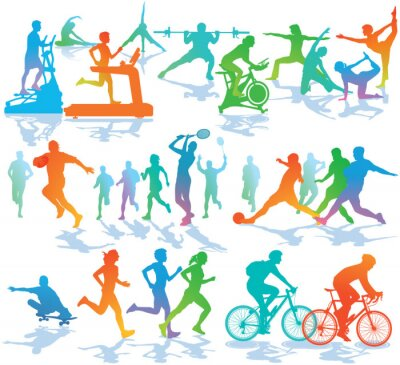 Posters Fitness et Sports