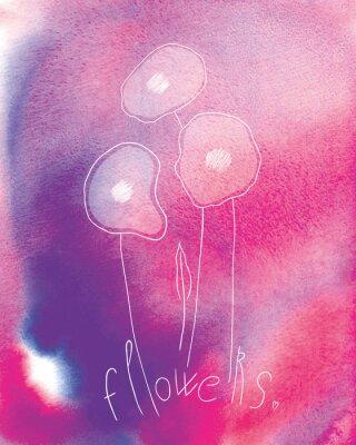 Posters fleurs