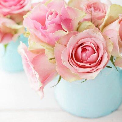 Posters fleurs dans un vase
