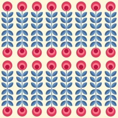 Posters Fleurs scandinaves
