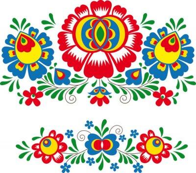 Posters Folk ornaments