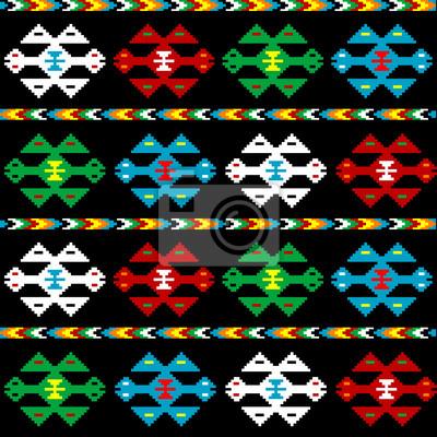 Fond avec texture ethnique