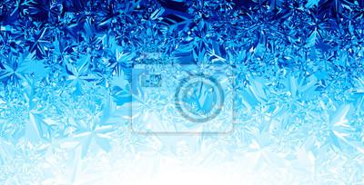 Posters fond de glace