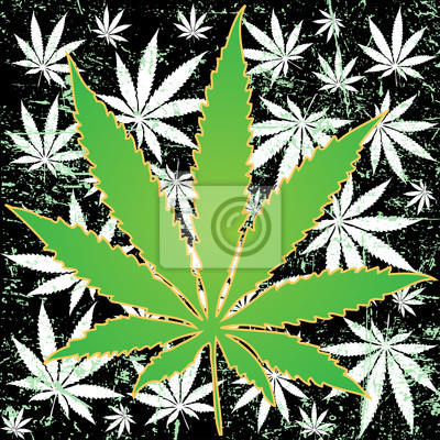 Posters fond de marijuana