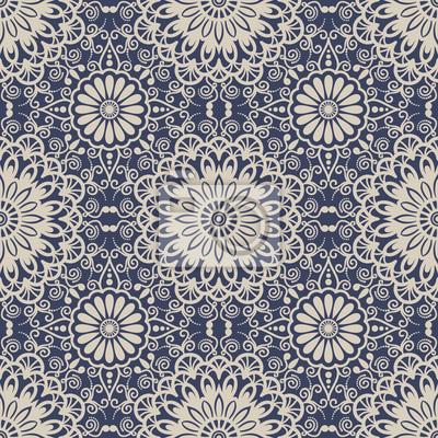 Fond transparent style oriental bleu et beige. motif arabe. ornement ...