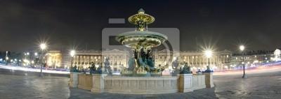 Fontaine de la place de la Concorde - Paris