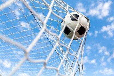 Posters Football, But, Ballon de football.
