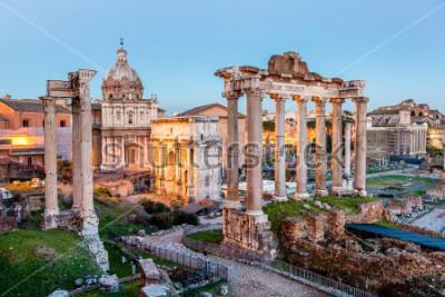 Posters Forum romain à Rome