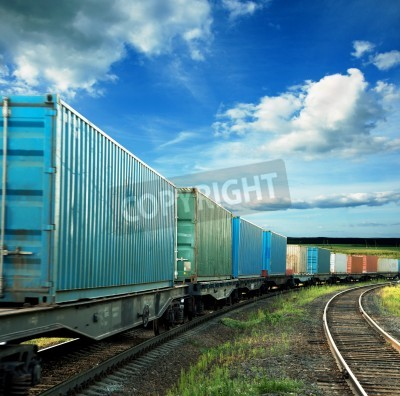 Posters freight cars