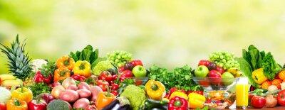 Posters Fruits et légumes.