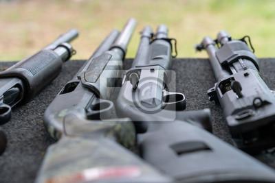 Posters Fusil automatique et à un coup