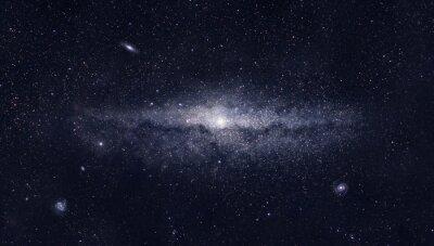 Posters Galaxie brillante