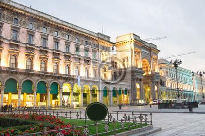 Galerie photos Vittorio Emanuele, à l'aube, Milan