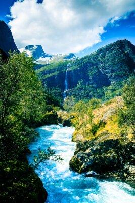 Posters Glaciers éternels et montagnes.
