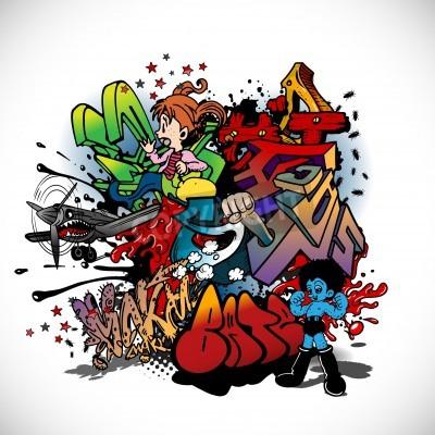Posters Graffiti, art urbain