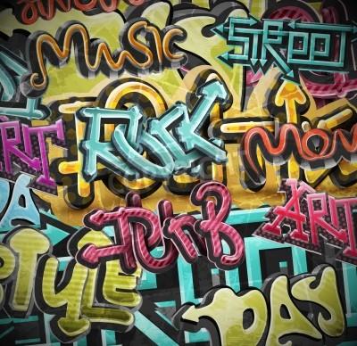 Posters Graffiti grunge, eps 10