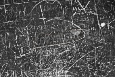 Posters Graffiti mur comme Symbole de la communication urbaine