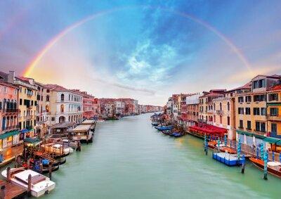 Posters Grand Canal - Venise du pont du Rialto
