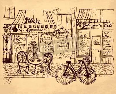 Posters hand drawn illustration