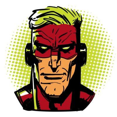 Posters Hero Rouge