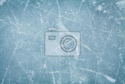 Posters Hockey, hockey, patinoire, fond, texture, macro, vue ...