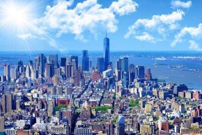 Posters Horizon, Manhattan