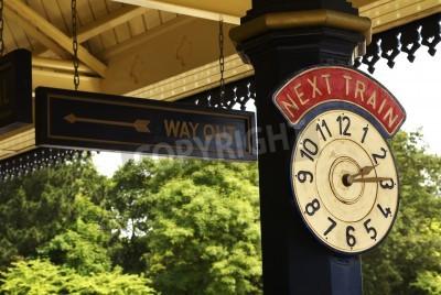 Posters Horloge de gare