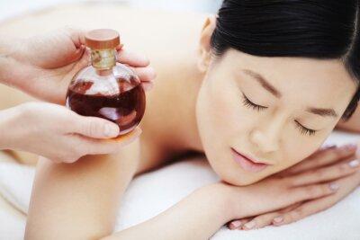 Posters Huile aromatique pour massage