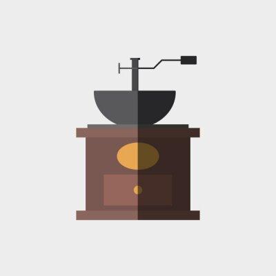 Posters Icône café, conception
