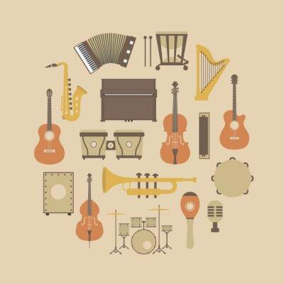 Posters icône de l'instrument