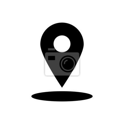 Icone Localisation icône de localisation affiches murales • posters système de