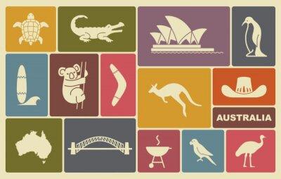 Posters Icônes australiennes