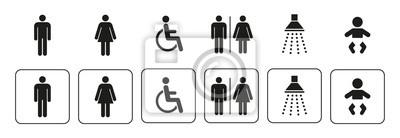 Posters Icônes sanitaires