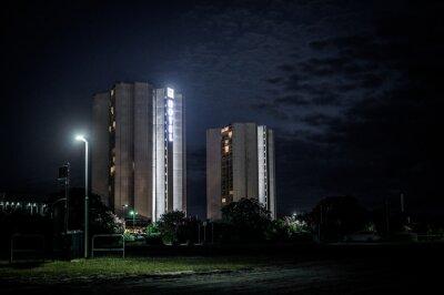 Posters IFA Hotel auf Fehmarn bei Nacht