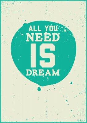 Posters Il vous suffit de rêve