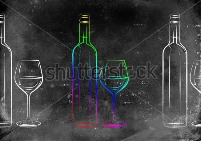 Posters Illustration de l'art du vin