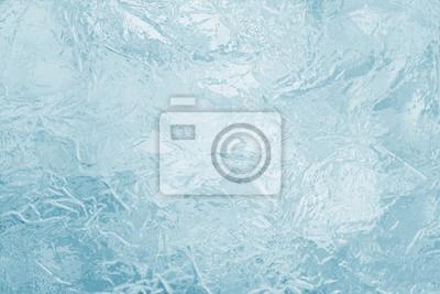 Posters Illustré, gelé, glace, texture