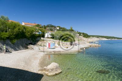 Image couleur SiloPanorama de Croatie, Kvarner, l'île de Krk, Silo