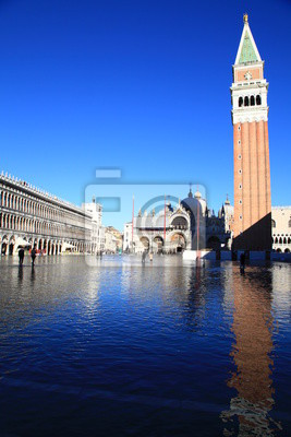 Inondations dans piazza San Marco